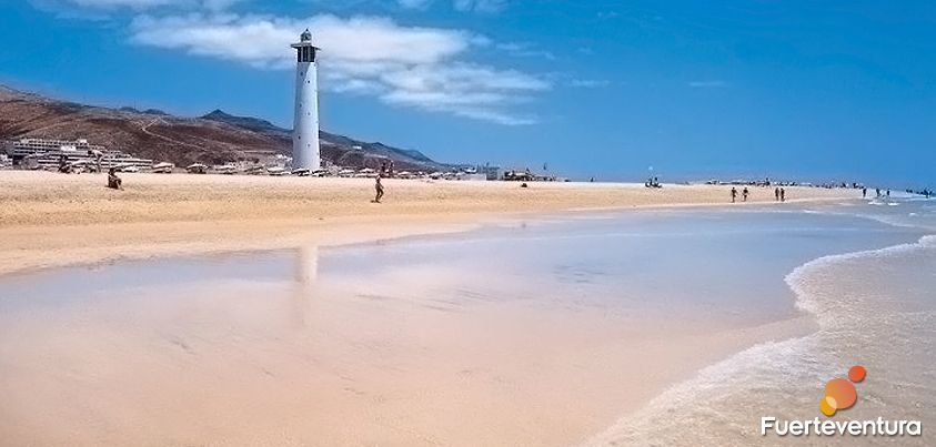Morro Jable beach - Solana del Matorral - El Sebadal - Lighthouse